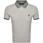 Product Image for Lyle And Scott Stripe Polo T Shirt Yellow