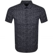 Product Image for Armani Exchange Short Sleeved Shirt Navy