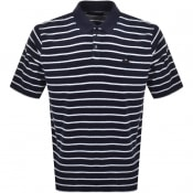 Product Image for Edwin Cruise Short Sleeved Polo T Shirt Navy