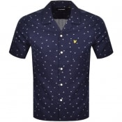 Product Image for Lyle And Scott Resort Short Sleeve Shirt Navy