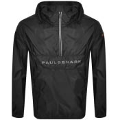 Product Image for Paul And Shark Half Zip Hooded Jacket Black