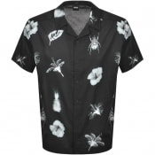 Product Image for BOSS Lapis Short Sleeved Shirt Black