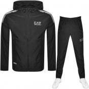 Product Image for EA7 Emporio Armani Ventus 7 Logo Tracksuit Black