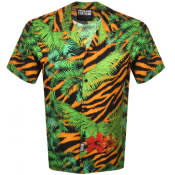 Product Image for Versace Jeans Couture Short Sleeved Shirt Green