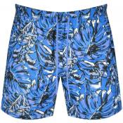 Product Image for BOSS Leaffish Swim Shorts Blue