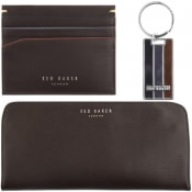 Product Image for Ted Baker Swandle Card Holder Gift Set Brown