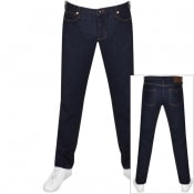 Product Image for Emporio Armani J75 Slim Fit Jeans Navy