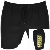 Product Image for Barbour International Logo Swim Shorts Black