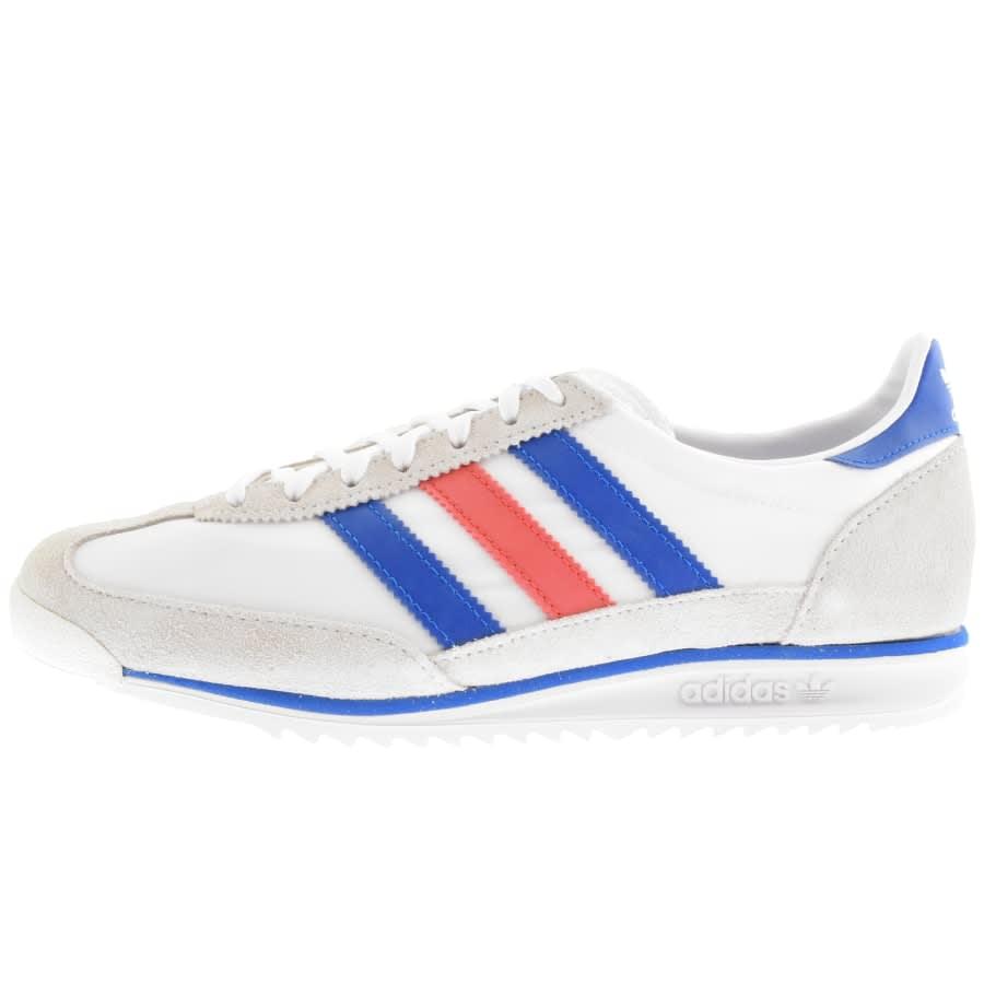 white adidas trainers originals