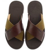 Product Image for Barbour Adam Sliders Brown