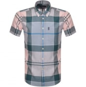 Product Image for Barbour Douglas Check Short Sleeved Shirt Pink