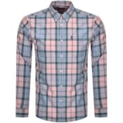 Product Image for Barbour Sandwood Check Long Sleeved Shirt Pink