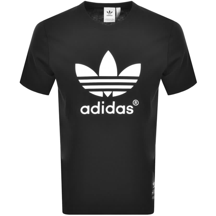 adidas Originals Trefoil Hist 81 T Shirt Black