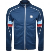 Product Image for Pretty Green Piped Contrast Panel Track Top Navy