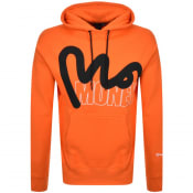 Product Image for Money Stencil Block Logo Hoodie Orange
