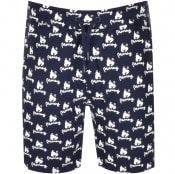 Product Image for Money Logo Sweat Shorts Navy