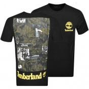 Product Image for Timberland Crew Neck Logo T Shirt Black