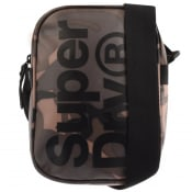 Product Image for Superdry Logo Camouflage Shoulder Bag Khaki