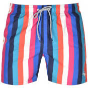 Product Image for Ted Baker Series Vertical Stripe Swim Shorts Blue