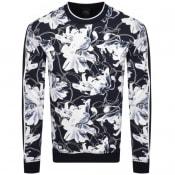 Product Image for Armani Exchange Crew Neck Logo Sweatshirt Navy
