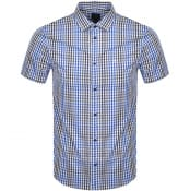 Product Image for Armani Exchange Short Sleeved Shirt Blue
