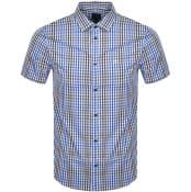 Product Image for Armani Exchange Short Sleeved Shirt Blue