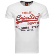 Product Image for Superdry Vintage Logo T Shirt White