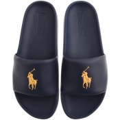 Product Image for Ralph Lauren Cayson Sliders Navy