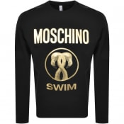 Product Image for Moschino Swim Logo Sweatshirt Black