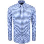 Product Image for Ralph Lauren Gingham Long Sleeve Shirt Blue