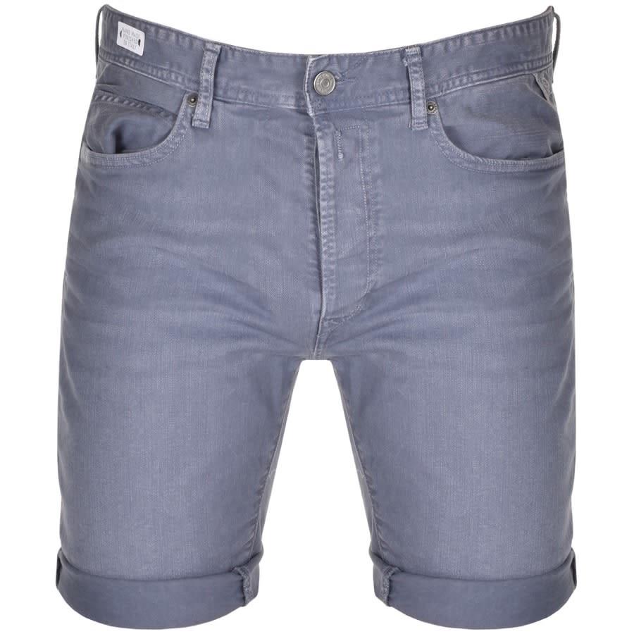 Replay Mens 5 Pocket RBJ 901 Shorts in Ink Dye