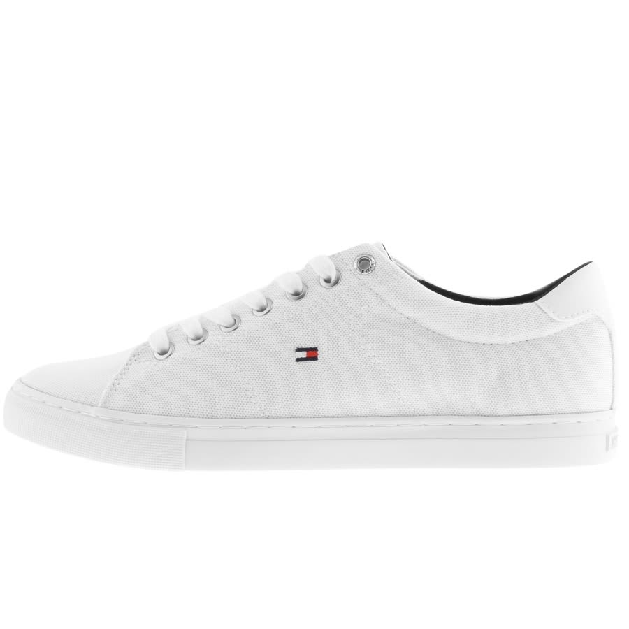 Tommy Hilfiger Canvas Trainers White