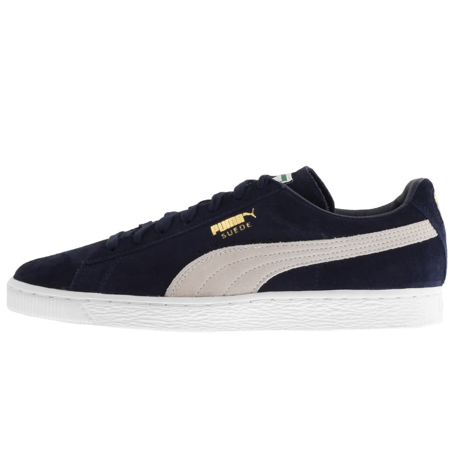 Puma Suede Classic Trainers Navy