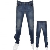 Product Image for Diesel Buster 0853R Tapered Slim Jeans Blue