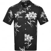 Product Image for Superdry Hawaiian Box Short Sleeve Shirt Black