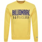Product Image for Billionaire Boys Club Logo Sweatshirt Yellow