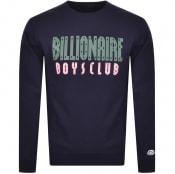 Product Image for Billionaire Boys Club Logo Sweatshirt Navy