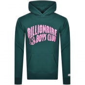 Product Image for Billionaire Boys Club Logo Hoodie Green