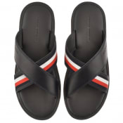Product Image for Tommy Hilfiger Criss Cross Flip Flop Sandals Navy