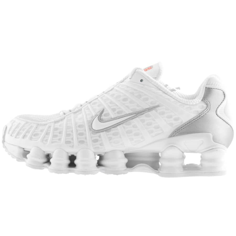 Nike Shox TL Trainers White | Mainline