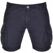 Product Image for Alpha Industries Nasa Shorts Navy