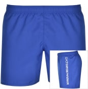 Product Image for EA7 Emporio Armani Logo Swim Shorts Blue