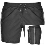 Product Image for Emporio Armani Logo Swim Shorts Black