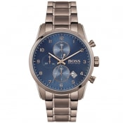 Product Image for BOSS HUGO BOSS 1513788 Skymaster Watch Blue