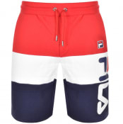 Product Image for Fila Vintage Stu 2 Cut And Sew Logo Shorts Red