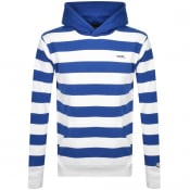 Product Image for Billionaire Boys Club Stripe Pullover Hoodie White