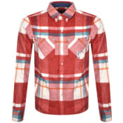 Product Image for Billionaire Boys Club Check Overshirt Red