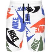 Product Image for Nike Logo Shorts White