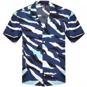 Product Image for BOSS Lello Short Sleeved Shirt Blue