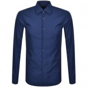 Product Image for BOSS Jango Long Sleeved Shirt Blue